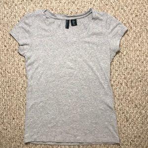 Cynthia Rowley gray t-shirt sz M